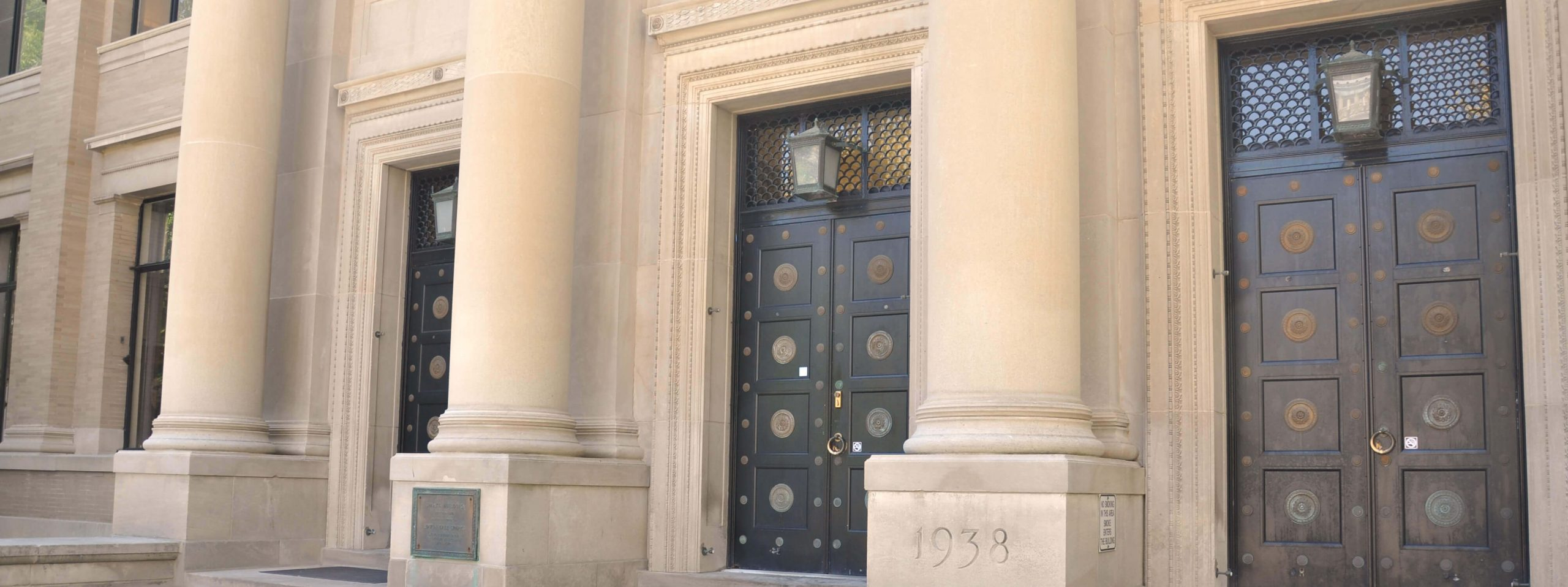 doors to sparks building